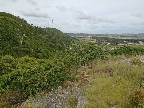 """View from Neolithic site """"Castro do Columbeira"""""""